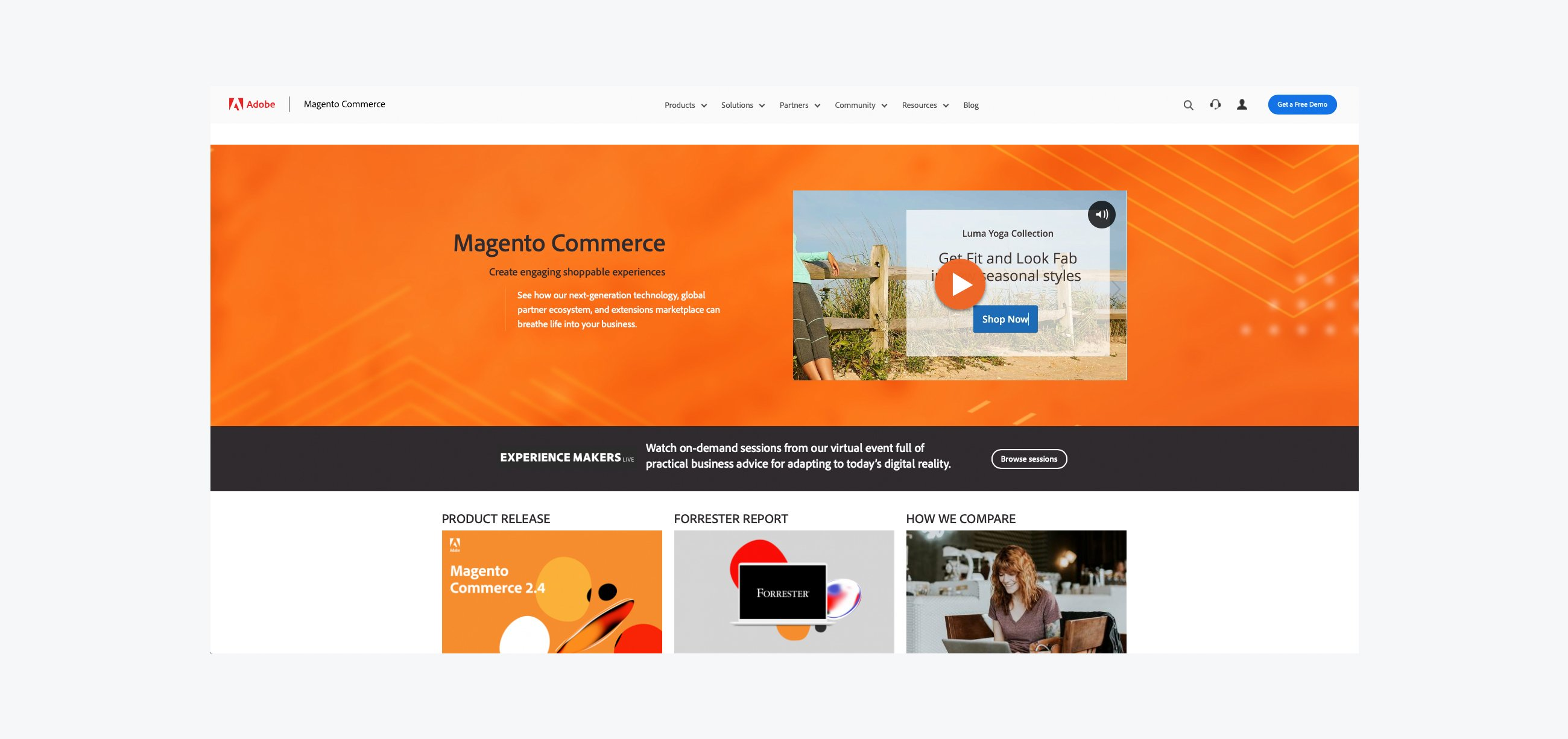 Top 10 eCommerce Platforms - Magento