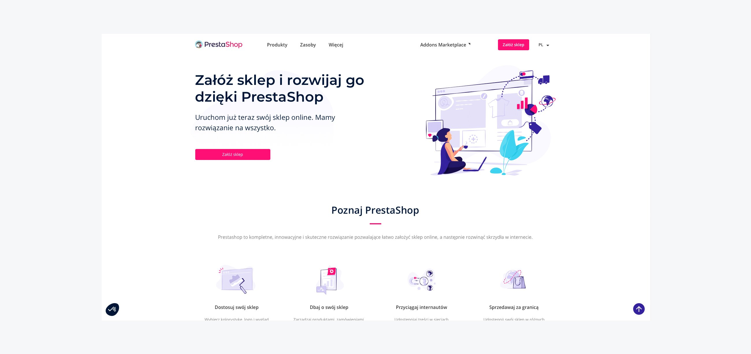 Top 10 eCommerce Platforms - Prestashop