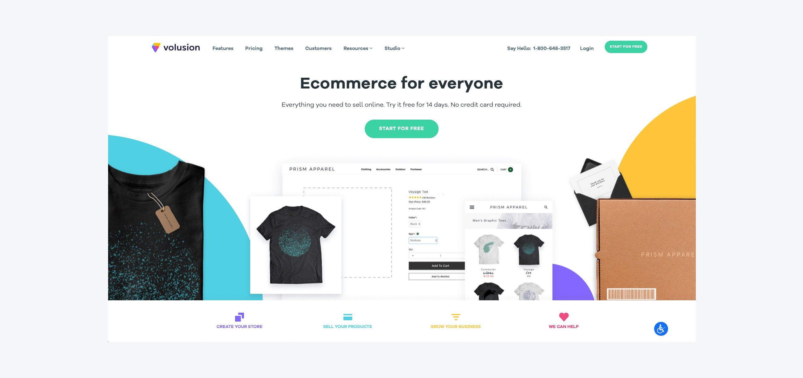 Top 10 eCommerce Platforms - Volusion