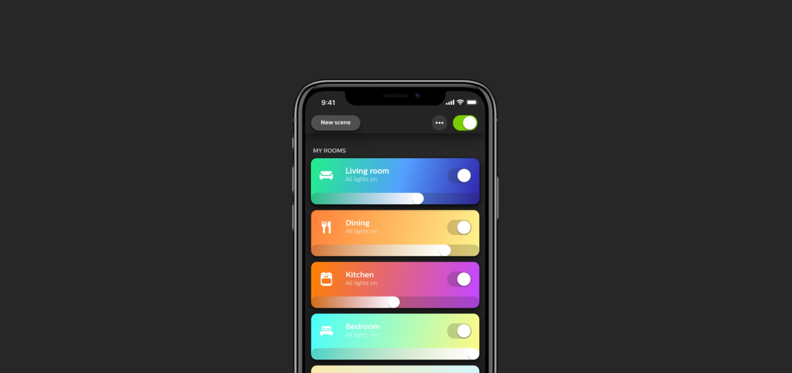 Top 5 Flutter Apps In 2020 - Phillips HUE