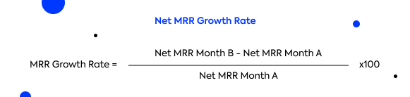SaaS Metrics: How to calculate the MRR growth rate for SaaS companies?