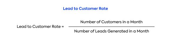 SaaS Metrics: How to calculate the lead-to-customer rate?